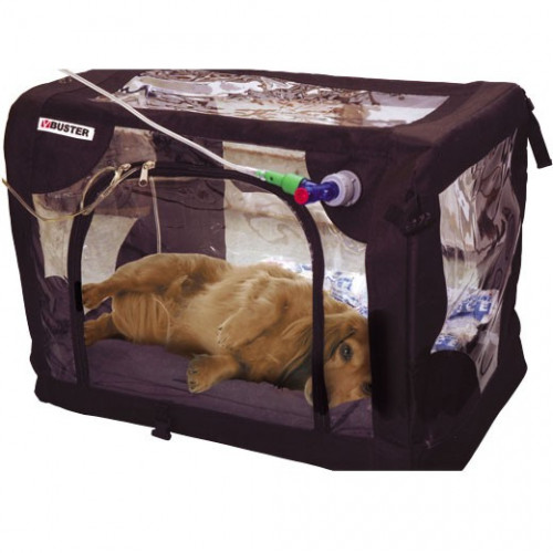 Medium ICU Oxygen Cage 60x45x45cm (121L) 3.3kg supplied with Mattress, 2 Gel Packs, Electric Mat and Accessories*1