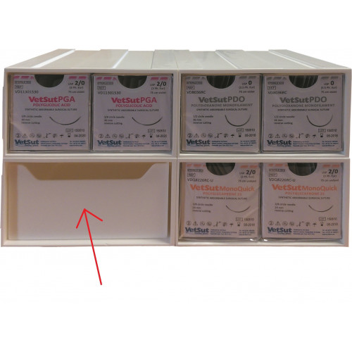 Draw for Surgical Suture Rack*1