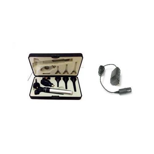 Keeler Vet Set 6 Keeler HANDLE Set WITHOUT Charger - Std. Ophthal / Vetscope / 4 Specula (Replaces Vet Set 2)*1