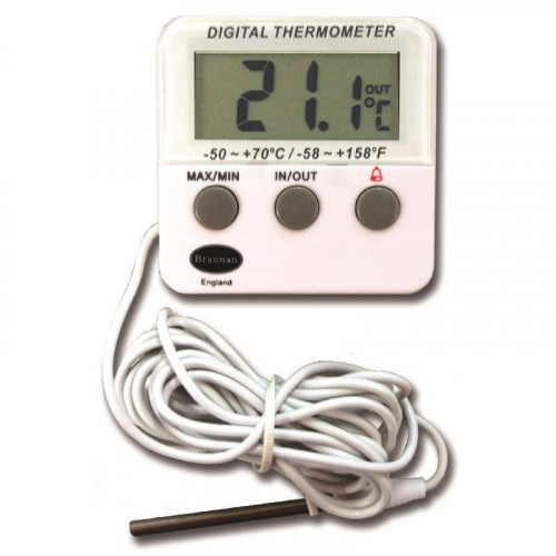 Thermometer Max/Min (DIGITAL) Calibrated*1