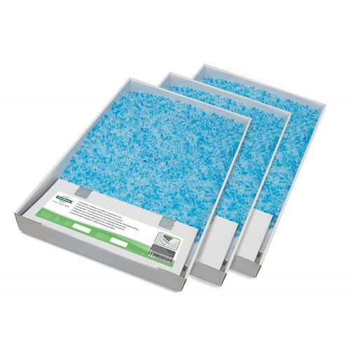Scoop Free Replacement Blue Crystal Litter Tray*3 Pack