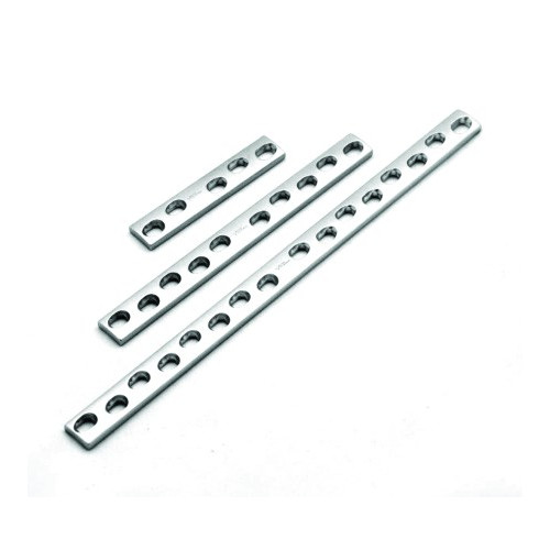##D## 1.5mm Compression Plate x 39mm 9 Hole