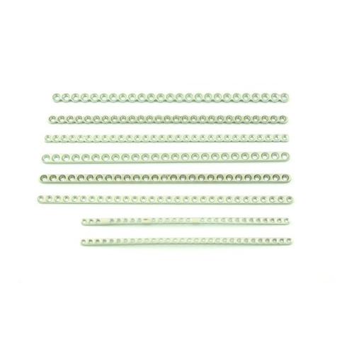 2.7mm Cuttable Malleable Plate 25 Hole 150mm 25