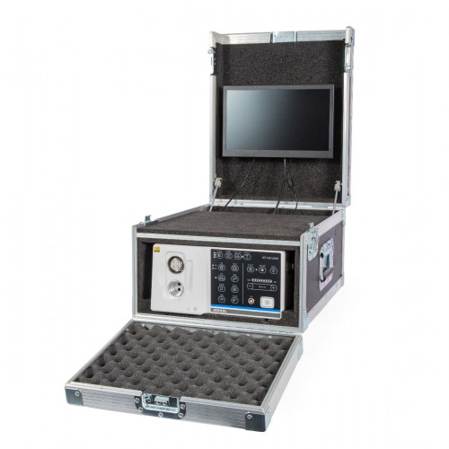 Ambulatory Flight Case with built-in monitor