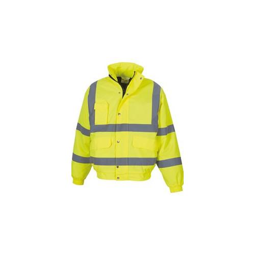 Hi Vis Jacket Yellow Large