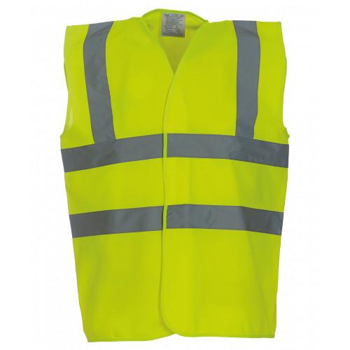 Hi Vis Vest Yellow Large