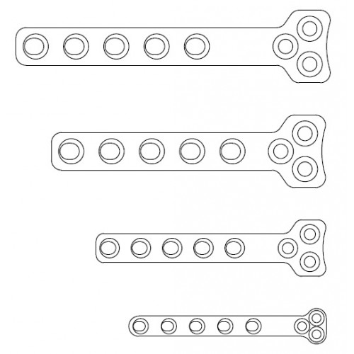 Hybrid T-Plate 50mm 9 + 4 1.5mm