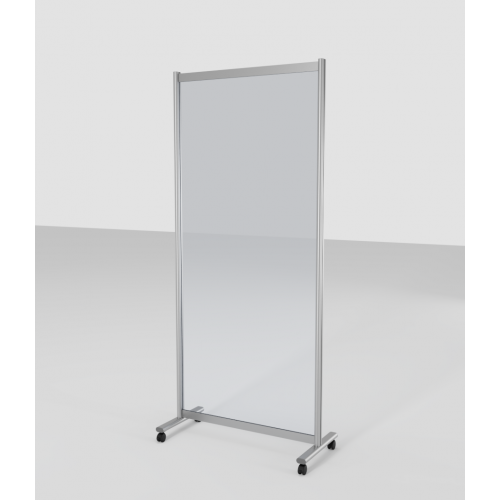 Mobile Acrylic Protective Screen Divider - 900mm (W) x 2000mm (H)