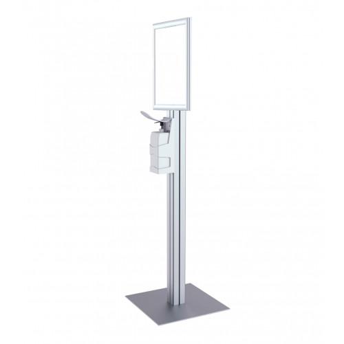 Freestanding Sanitiser Dispenser - A3 Snap Frame