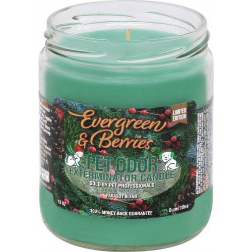 LIMITED Vet Candle 13oz Jar Evergreen & Berries LIMITED EDITION