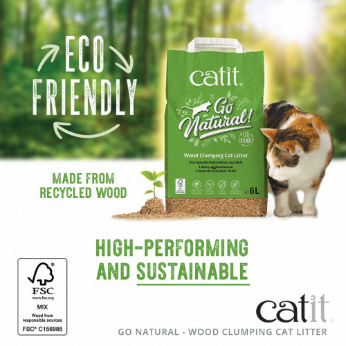Catit Go Natural Cat Litter 6L*1