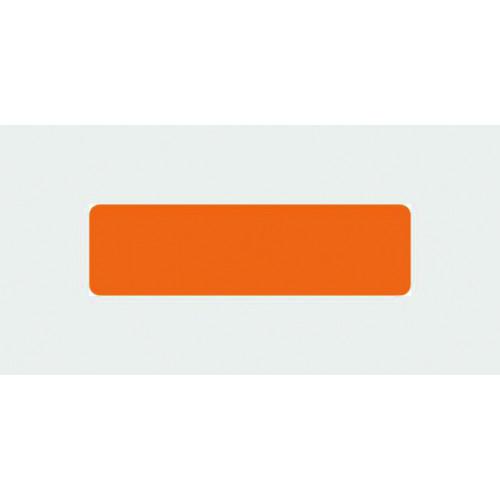 Blank Label (no text) - Orange*400