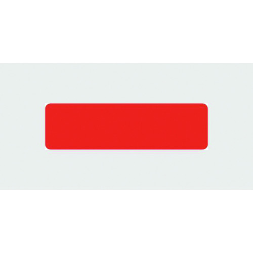 Blank Label (no text) - Red*400