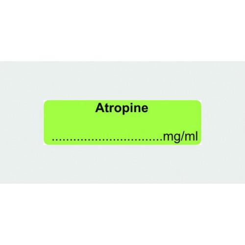 Atropine Label (with...mg/ml)*400