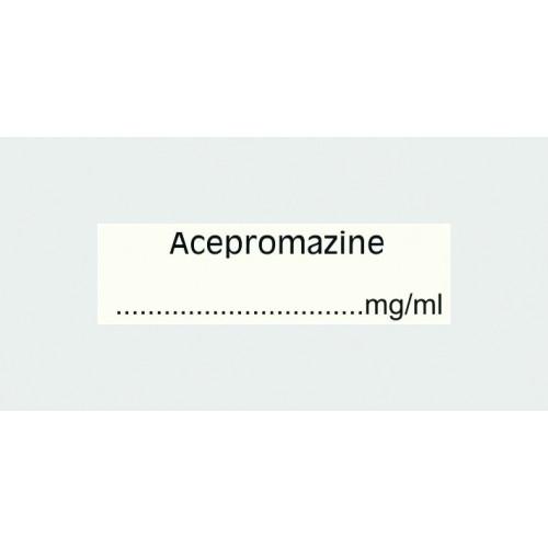 Acepromazine Label (with...mg/ml)*400